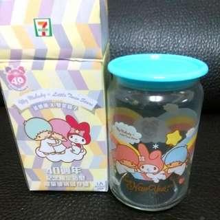 7-11美樂蒂×雙星仙子紀念限量玻璃罐
