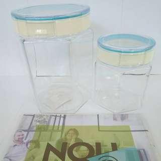 Storage Pot / Kotak Cemilan
