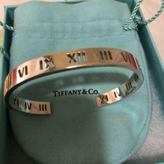 Tiffany 男裝純銀手鐲(限量)