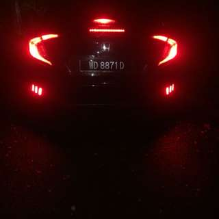 honda civic tc2016 headlamp and taillight original