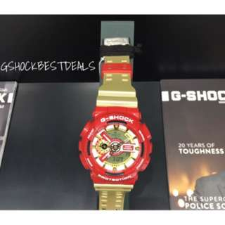 Ga110CS-4A Ironman gshock watch