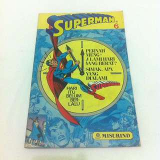 Superman No.6 - Misurind tahun 1992