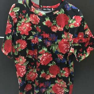 Tshirt flower