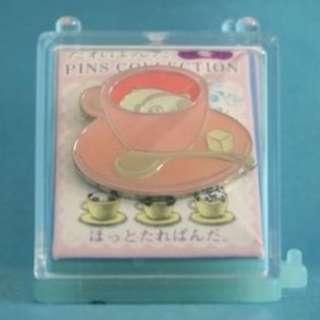 San-X Tare Panda Figure Metal Pin Collection Winter 趴地熊 趴趴熊 金屬 扣針 徽章