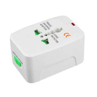 [PO67]2pcs Universal All-In-One Power Adapter Travel Adapter