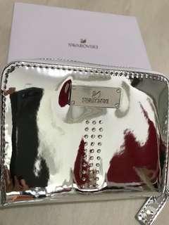 Swarovski coins and cards purse