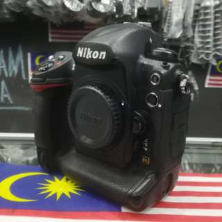 USED NIKON D3 FULL FRAME DSLR BODY