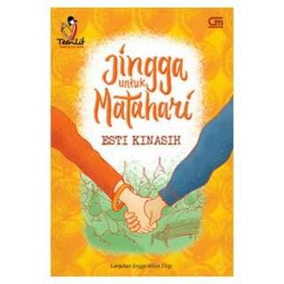 E-BOOK Jingga untuk Matahari by Esti Kinasih