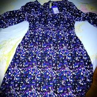 BNWT SERAPHINE FLORAL MATERNITY DRESS
