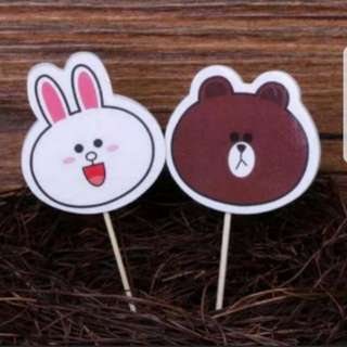 Brown and Cony Toppers Pick