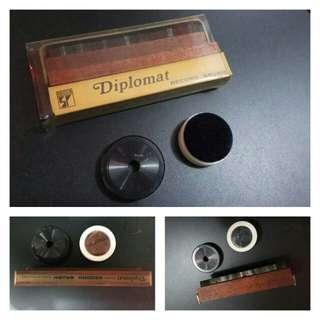Decca英製古董静電唱片掃加附件