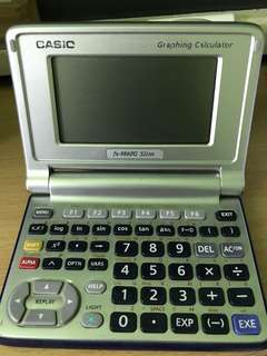 Casio Graphing Calculator Fox-9860G Slim
