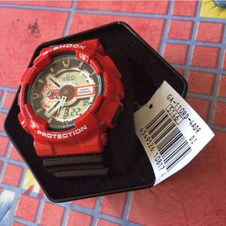 Ga110rd-4a Spiderman gshock Watch 20bar