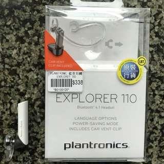 99%New Plantronics Bluetooth 藍芽無線免提耳機