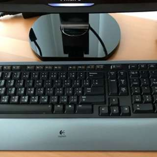 Logitech Wireless Keyboard + Mouse