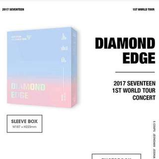 [PREORDER] SEVENTEEN - 2017 First World Tour Diamond Edge in Seoul DVD