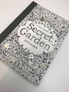 Secret Garden Colouring Postcards