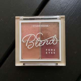 Etude house blend 4 for eyes