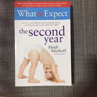 What to Expect - the Second Year