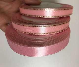 粉紅色絲帶3卷 婚後物資