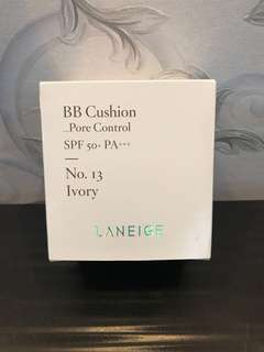 Laneige BB Cushion Pore Control refill in Ivory