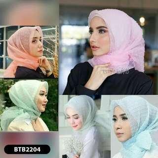 Hijab Jilbab Bergo Kerudung Scarft Instan Khimar Dot
