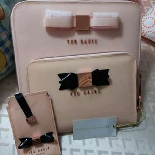 Ted baker mini iPad case & mini tablet case..old stock have a little stain insid