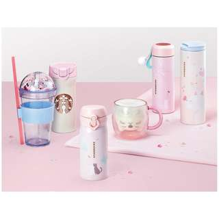 Starbucks Korea 2018 Valentine's Collection