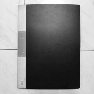 A3 port folio pocket folder (20 pockets)