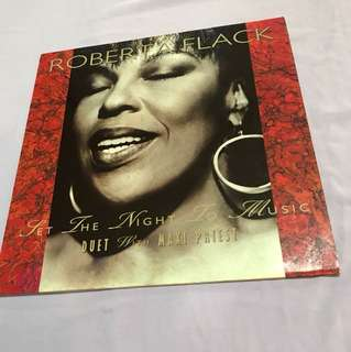 "Roberta Flack - Set The Night To Music 12"" Single"