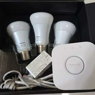 Brand new Philips Hue White and colour ambience starter kit Gen 2