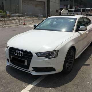 AUDI A5 1.8T SPORTBACK 2013, i am the first owner