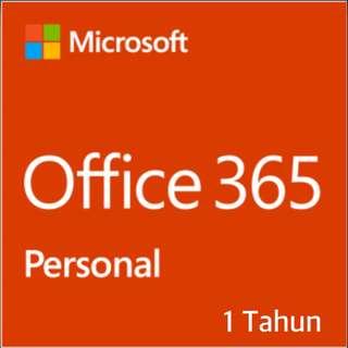 Office 365 Personal ORIGINAL 1 Tahun