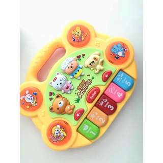 Baby Animals Piano Keyboard Toy