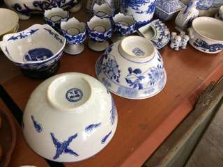 Blue White porcelains
