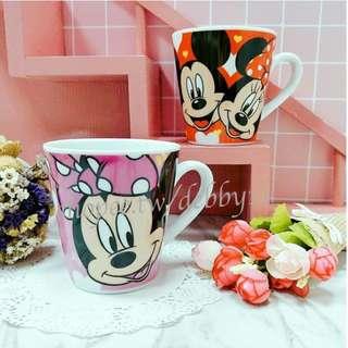米奇米妮陶瓷馬克杯 迪士尼