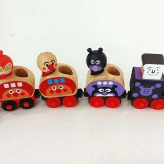 Permainan Wooden Toy Train