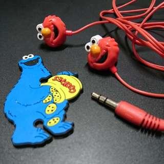 Elmo earphone