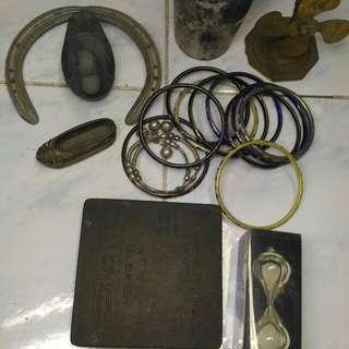 舊銅器什物20件