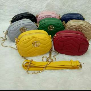 Sling bag Gucci rante and gesper ,