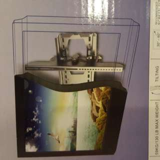 Big screen TV wall mount tilting type brand new in box