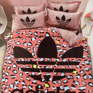 001 Adidas Bedsheet Set