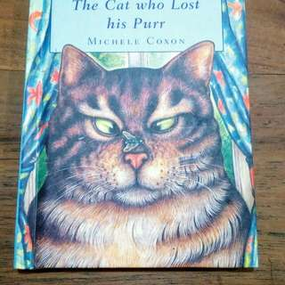 Buku cerita anak: The Cat who Lost His Purr