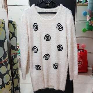 Fur Pullover Sweater Winter Autumn Spring