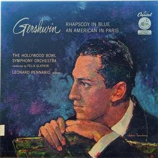 Gershwin, Vinyl LP, used, 12-inch original USA pressing