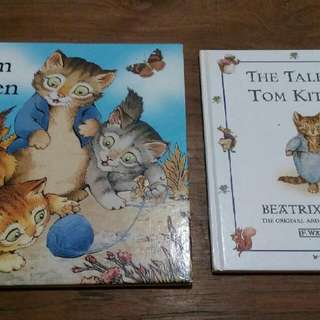 Buku cerita anak: Tom the Kitten by Beatrix Potter