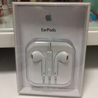 Apple 原厰耳機 ear pods iPhone4&5 iPhone6 &6s
