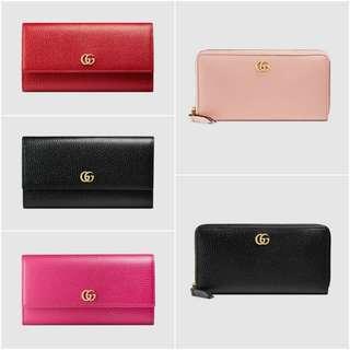 Gucci Continental / Zip Around Wallet