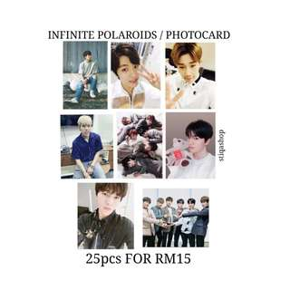 [PREORDER] INFINITE POLAROIDS / PHOTOCARDS