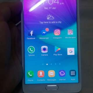 Samsung note 4 korean variant ,3gb ram ,32gb internal memory, 16mp camera